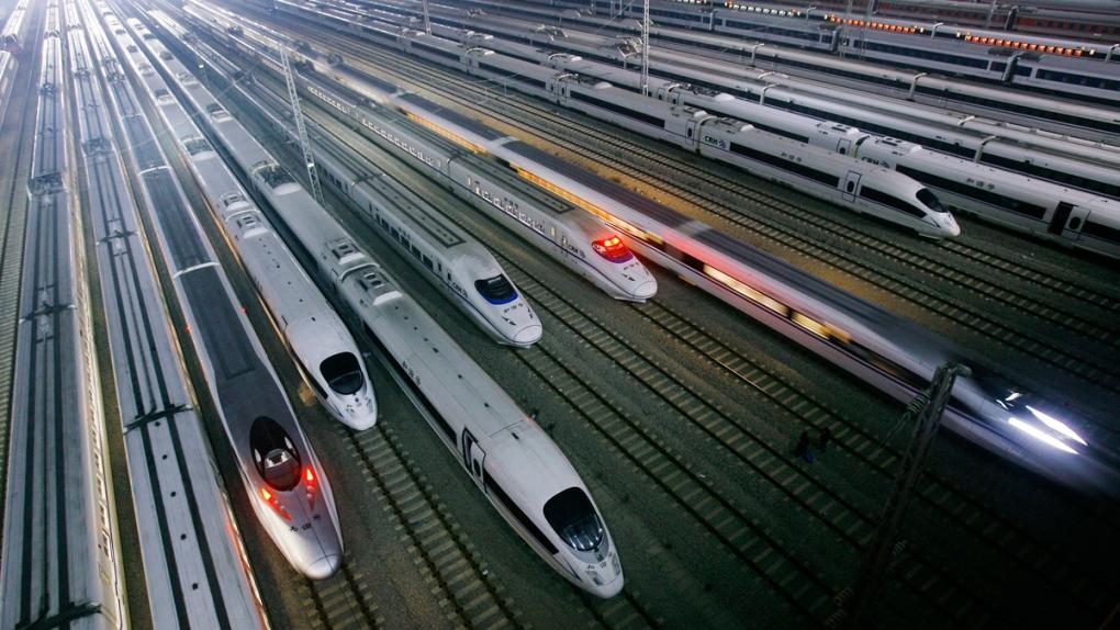 China's CRH high-speed trains