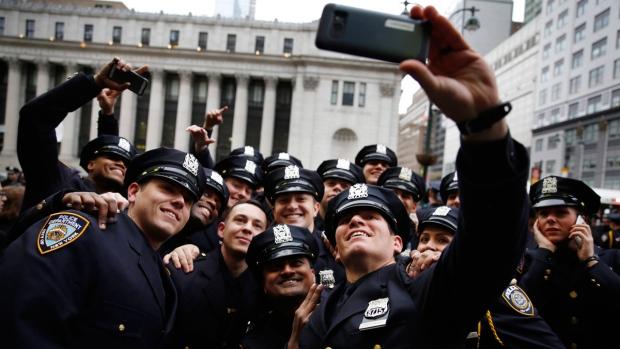 NYPD Police Academy graduates