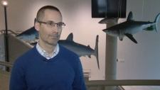 Marine ecologist Kent Smedbol