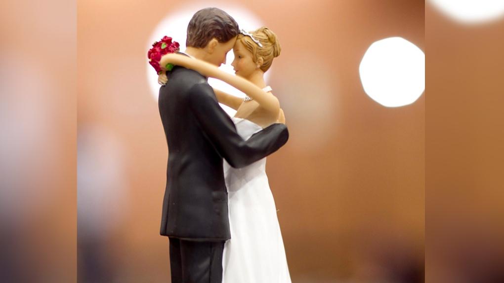 Bride Groom, Wedding Topper, Generic