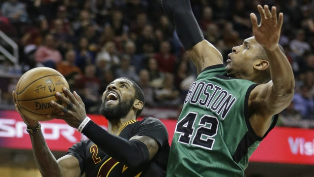 Cavaliers teammates Love and Irving accomplish a first
