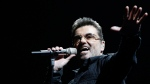George Michael performs in Inglewood, Calif., on June 25, 2008. (AP / Matt Sayles)