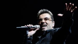 George Michael performs in Inglewood, Calif., on June 25, 2008. (AP / Matt Sayles)