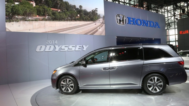 Honda Canada Says It Will Take Until Spring To Get Parts For Odyssey - Honda center car show