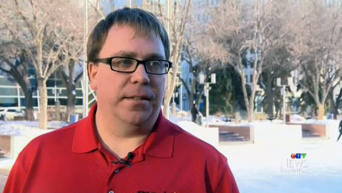 Jason Hills, president of Mothers Against Drunk Driving (MADD) Edmonton, speaks to CTV on Dec. 30, 2016.