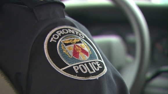 A Toronto police logo is seen in an undated file image.