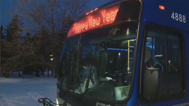 How to get around Edmonton on New Year's Eve | CTV News