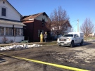 The Ontario Fire Marshal is investigating after one person died in a St. Thomas house fire on Sunday, Jan. 1, 2017. (Natalie Quinlan / CTV News)