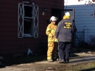 The Ontario Fire Marshal is investigating a fatal house fire on Moore Street in St. Thomas on Sunday, Jan. 1, 2017. (Natalie Quinlan / CTV News)