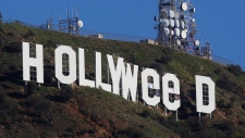 'Hollywood' sign gets a makeover