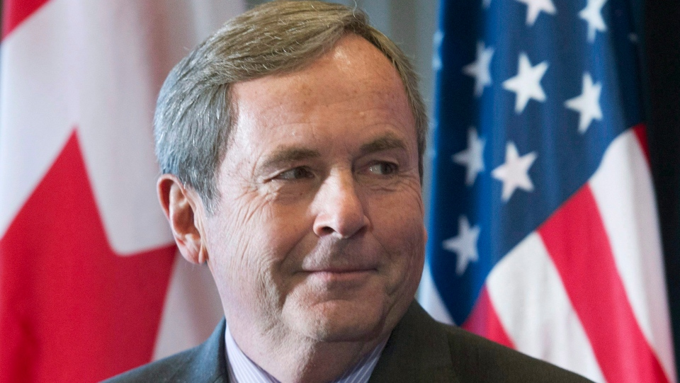 Canada's Ambassador to the United States David MacNaughton attends a business luncheon in Montreal, Wednesday, November 16, 2016. (Graham Hughes / THE CANADIAN PRESS)