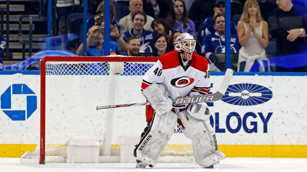 Jorge Alves is used to being responsible for the Carolina Hurricanes   equipment c95f33f87