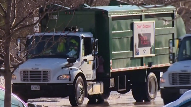 ctv kitchener garbage pickup delay ctv kitchener news weekly curbside garbage pickup now a thing of the past