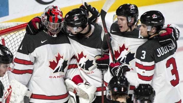 Iihf World Junior Hockey Gauthier Scores 2 As Canada Tops Czechs 5