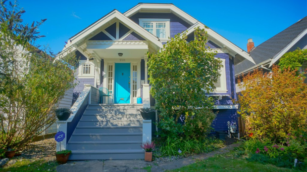 This five-bedroom home near Vancouver's Commercial Drive saw its assessed value rise from $1.09-million to $1.46-million from 2015 to 2016. (Michelle Comens Real Estate)
