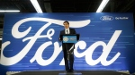 Ford President and CEO Mark Fields addresses the Flat Rock Assembly, on Jan. 3, 2017. (Carlos Osorio / AP)