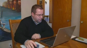 Mark Sirois has been sharing his weather forecasts for the past nine years.