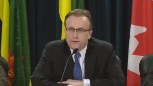 Saskatchewan Health Minister Jim Reiter