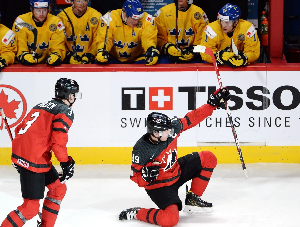 Iihf World Junior Hockey Canada Advances To Final After 5 2 Win