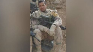 Lionel Desmond served a tour in Afghanistan in 2007 and was released from the Forces in 2015. Relatives say he suffered from post-traumatic stress disorder. (Trevor Bungay/Facebook)