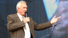 In this July 6, 2013, file photo, Mel Tillis performs at the Oklahoma Twister Relief Concert at the Gaylord Family-Oklahoma Memorial Stadium in Norman, Okla. (Photo by Alonzo Adams/Invision/AP, File)