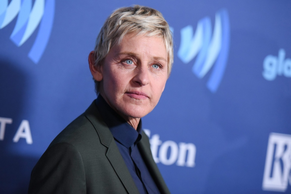 In this March 21, 2015, file photo, Ellen DeGeneres arrives at the 26th Annual GLAAD Media Awards held at the Beverly Hilton Hotel, in Beverly Hills, Calif. (Richard Shotwell / Invision)