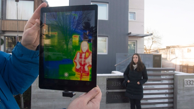 Thermal imaging pilot project heats up - Resources