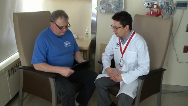 Norbert Franke with Dr. Dar Dowlatshahi