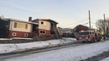 Child dies in East Vancouver fire