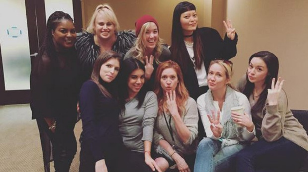 Anna Kendrick reveals 'Pitch Perfect 3' cast in all their