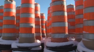 Signalisation SMG has over 10,000 cones on Montreal's streets, meaning your driving pain is their financial gain.