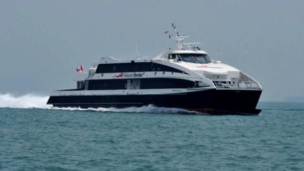 Potential Nanaimo ferry service