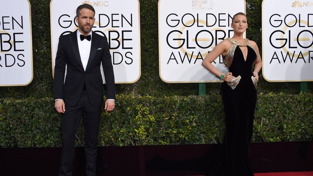 Blake Lively, right, and Ryan Reynolds