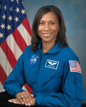 American astronaut Jeanette Epps is seen in this undated handout photo. (NASA)