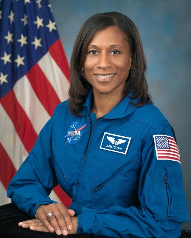 American astronaut Jeanette Epps
