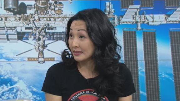 Julielynn Wong talks to CTV's Your Morning about her 3D printing technology for astronauts in space.