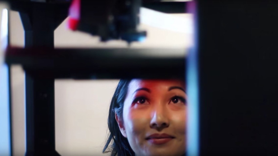Toronto doctor Julielynn Wong's company 3D4MD has developed 3D printing technology to create medical supplies in space. (3D4MD / YouTube)