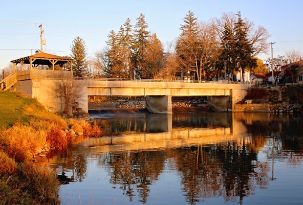 November 2016/Nov-29_Liz-Allan_Wroxeter-Dam-and-Bridge.jpg