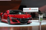 Road & Track Performance Car of the Year, the Acura NSX, at the North American International Auto Show in Detroit on Monday, Jan. 9, 2017. (Melanie Borrelli / CTV Windsor)