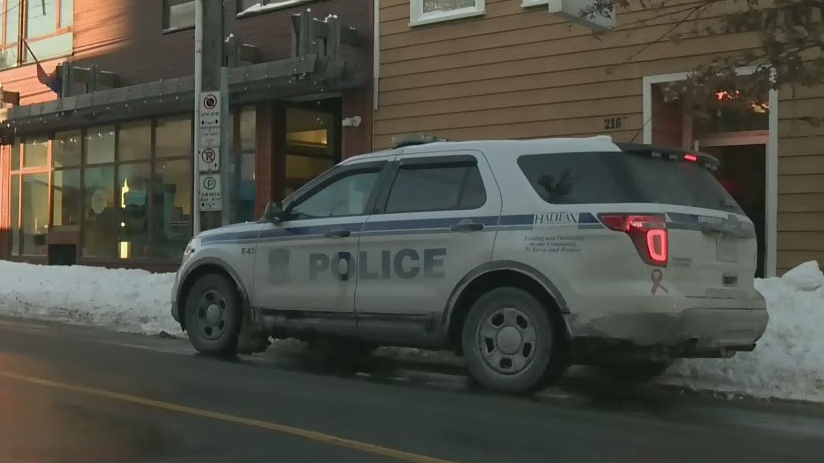 A Halifax police vehicle