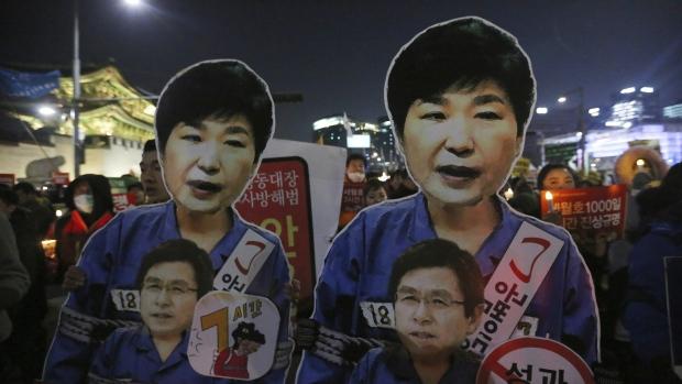 Impeached South Korea President Park Geun-hye