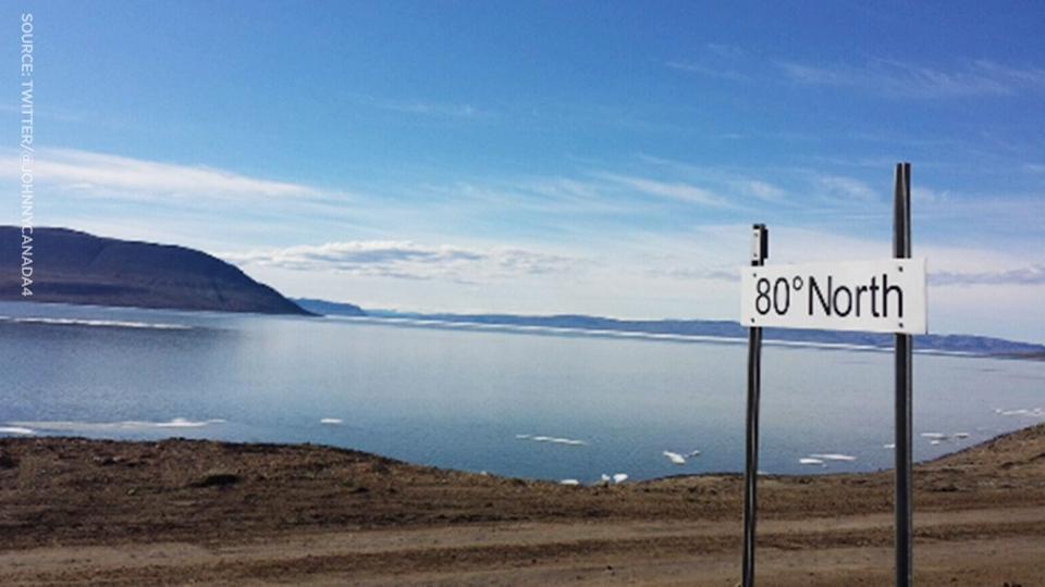 In February, temperatures can dip to a frigid -50 C in Eureka, Nunavut.
