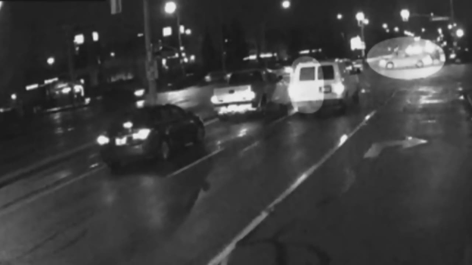 York Regional Police have released video footage of a fail-to-remain collision in Vaughan where a 16-year-old girl was seriously injured.