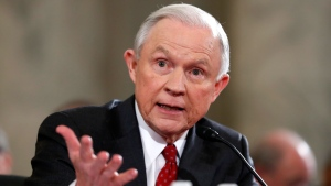 Attorney General-designate, Sen. Jeff Sessions, R-Ala., testifies on Capitol Hill at his confirmation hearing before the Senate Judiciary Committee in Washington on Tuesday, Jan. 10, 2017. (AP / Alex Brandon)