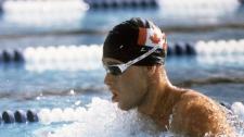 Victor Davis swims at the 1984 Olympics