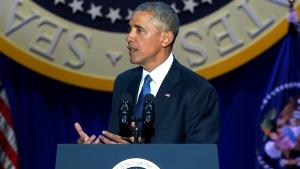 CTV News Channel: Obama farewell speech, part 2