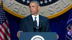 CTV News Channel: Obama farewell speech, part 4