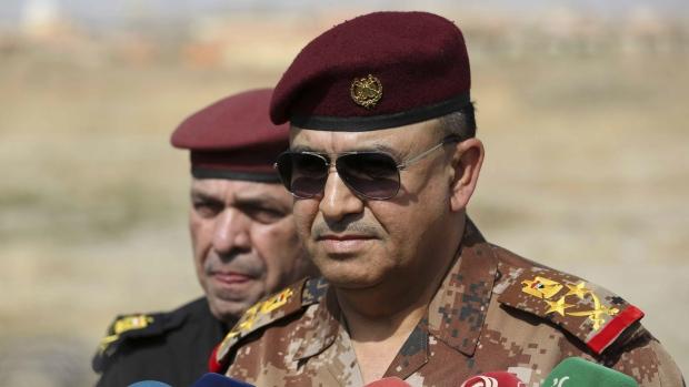 Iraq Army Lt. Gen. Talib Shaghati