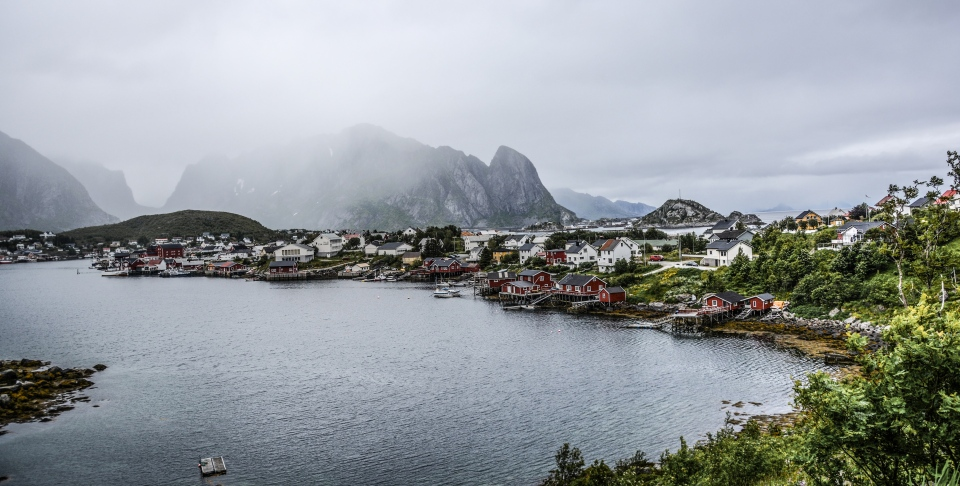 A Norwegian village is seen in this undated file photo. (Monicore/Pexels)