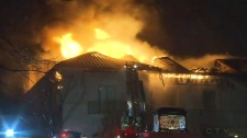 Toronto mansion fire